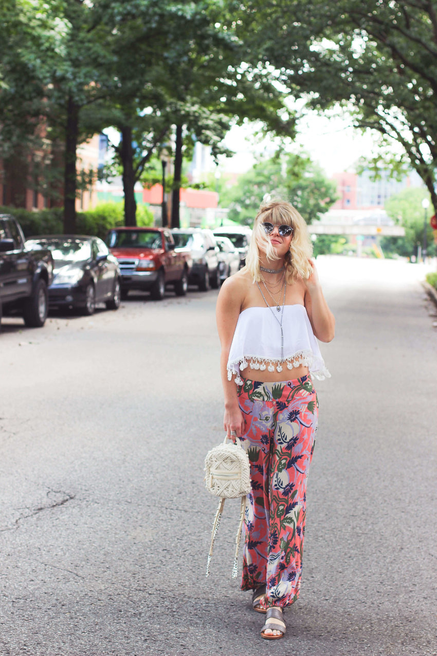 The Secret Way Petite Girls Can Wear Billowy Pants