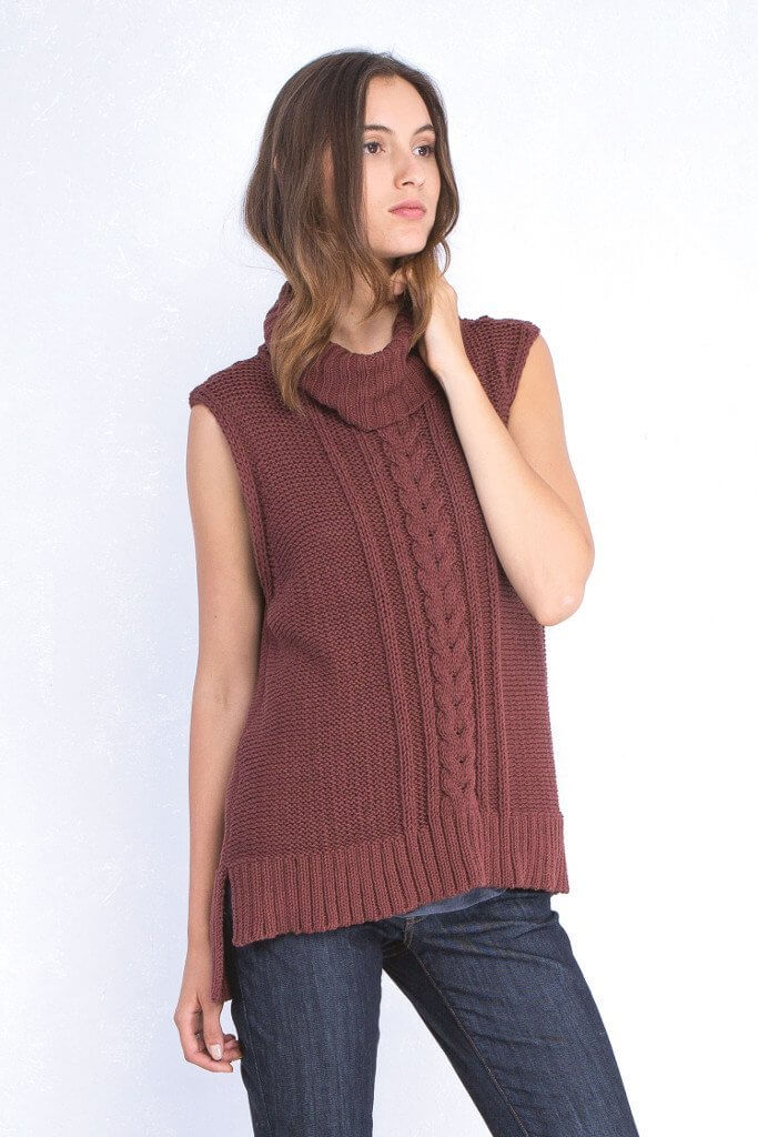 5 Reasons Why You Need A Sleeveless Sweater This Fall